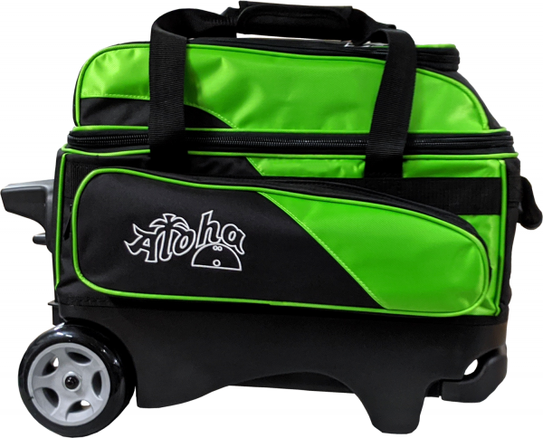 Aloha Premium 2-Ball Roller Bag lime