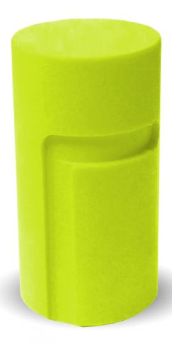 Grip Loc Inner Sleeve undrilled yellow 1-1/4""
