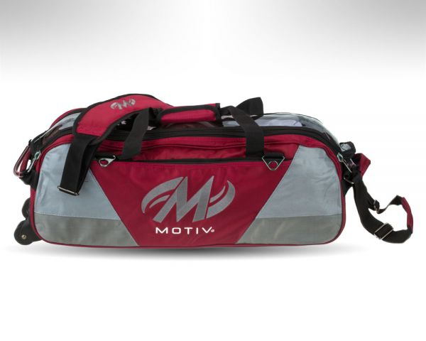 Motiv Ballistix 3-Ball Tote red