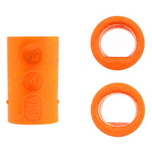 Vise Grip Fingerinsert P/O orange
