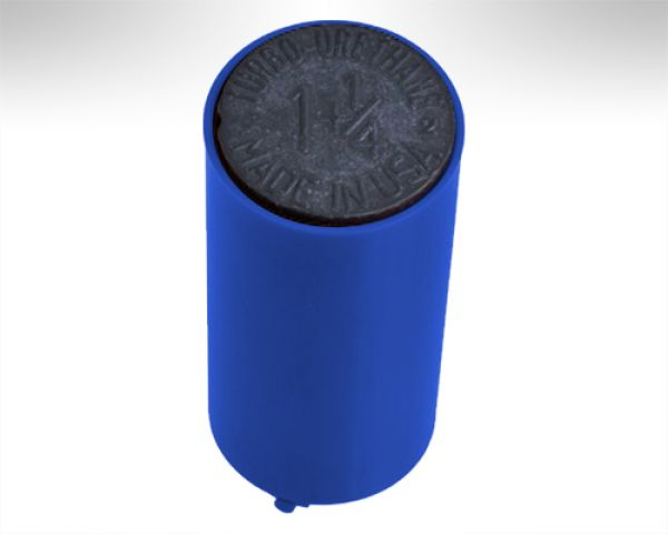 Turbo Switch Grip Inner Sleeve blue w. black Slug