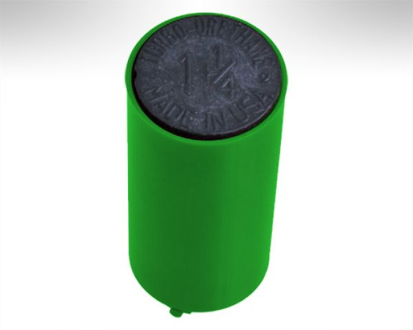 Turbo Switch Grip Inner Sleeve green w. black Slug