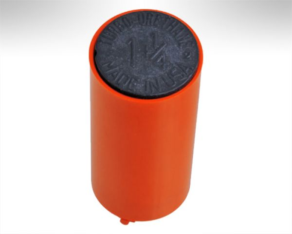 Turbo Switch Grip Inner Sleeve orange w. black Slug