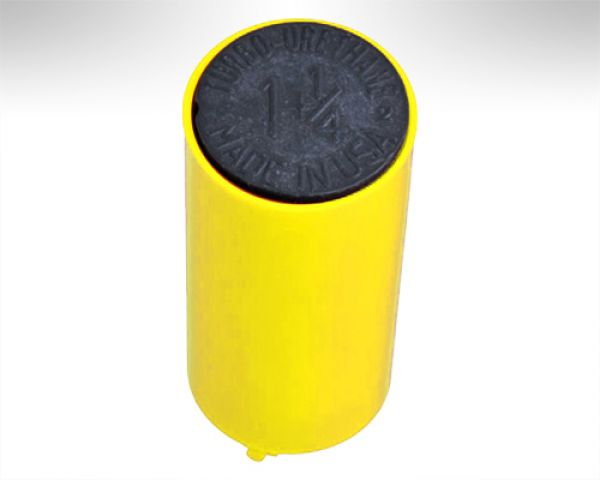 Turbo Switch Grip Inner Sleeve yellow w. black Slug
