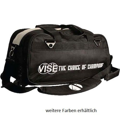 Vise Grip 2-Ball Clear Top Tote Roller black