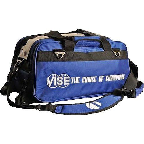 Vise Grip 2-Ball Clear Top Tote Roller blue