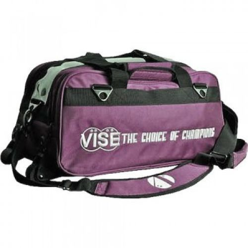 Vise Grip 2-Ball Clear Top Tote Roller purple
