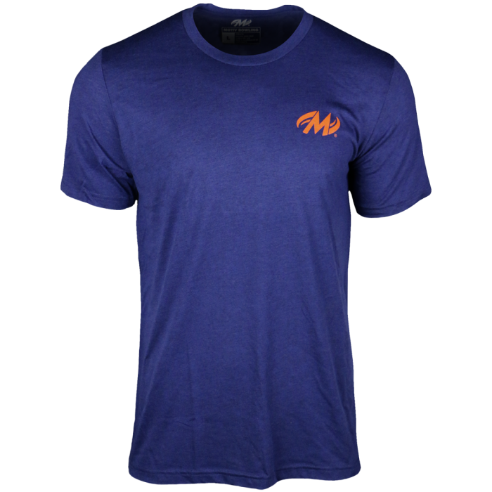 Motiv Flux T-Shirt - Navy Heather front