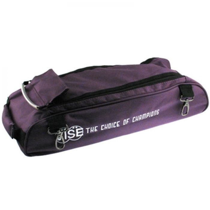 Vise Grip 3-Ball tote Add-on shoe bag purple