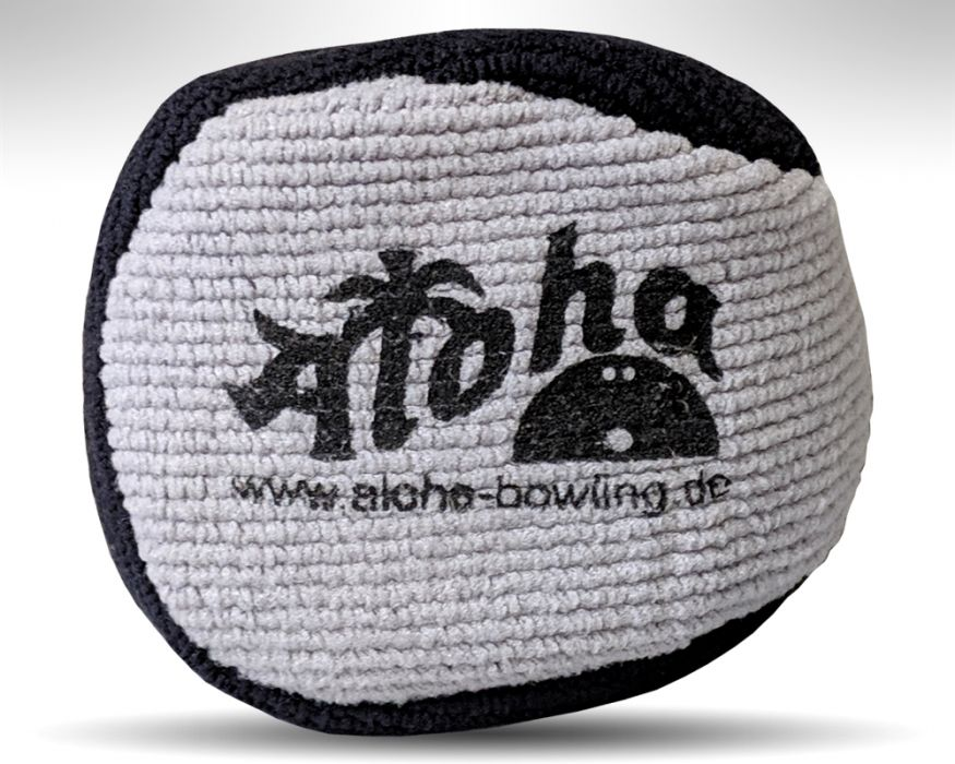 Aloha Microfiber Puffball black/grey