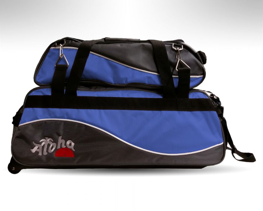 Aloha Wave Triple tote blue