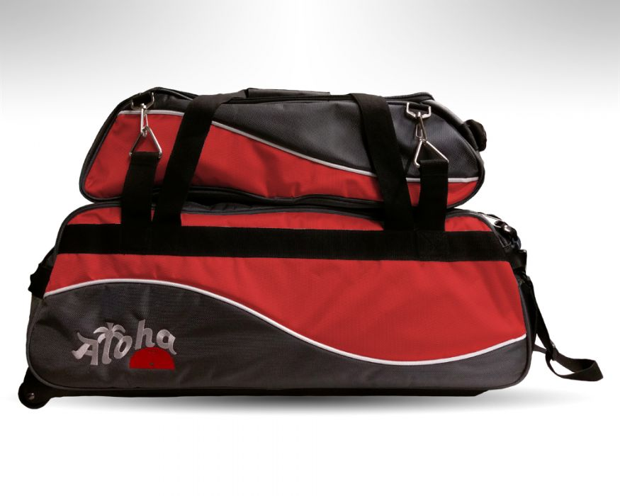Aloha Wave Triple tote red