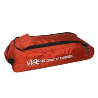 Vise Grip 3-Ball tote Add-on shoe bag red